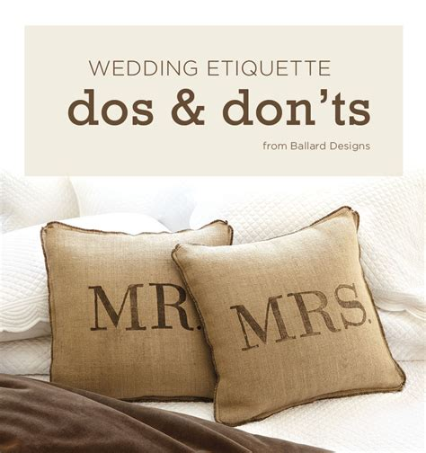 Wedding Registry Gift Card Etiquette - our top wedding etiquette dos and don ts how to decorate