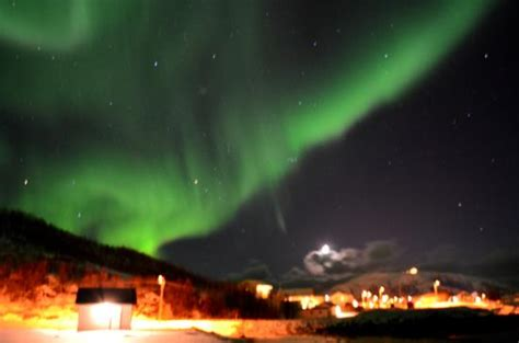 Northern Lights Near Tromso Norway March 23 2015