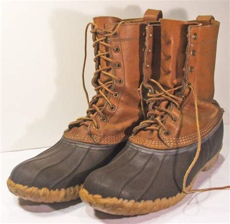 ll bean mens shoes and boots ll bean maine shoes vtg mens boots sz 12 green