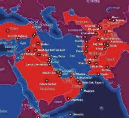 us map of middle east u s bases in the middle east antiwar