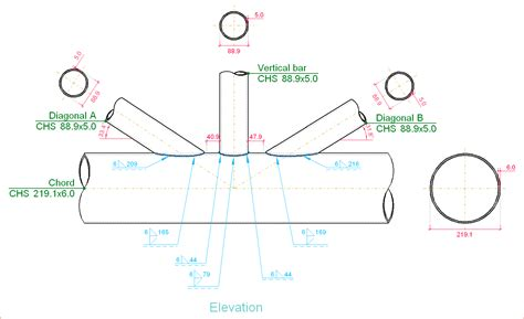 hollow structural section connections and trusses image gallery truss joints
