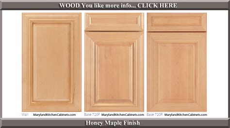 Kitchen Cabinet Door Finishes Maple Doors Maple