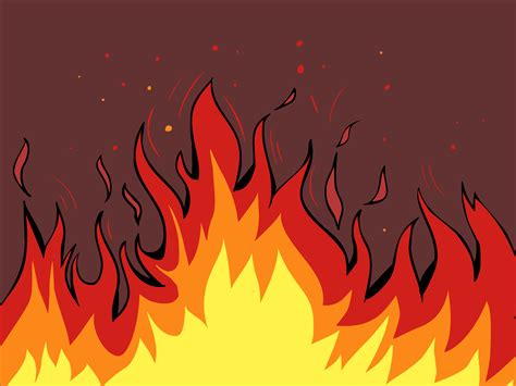 Drawing Flames how to draw flames 14 steps with pictures wikihow
