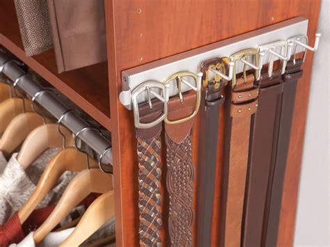 Belt Holder For Closet by Closet Finishes Accessories Lake Erie Closets Inc