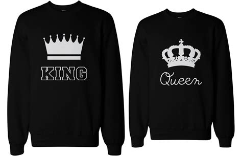 Matching Sweatshirts For Couples Matching Hoodies King And Images