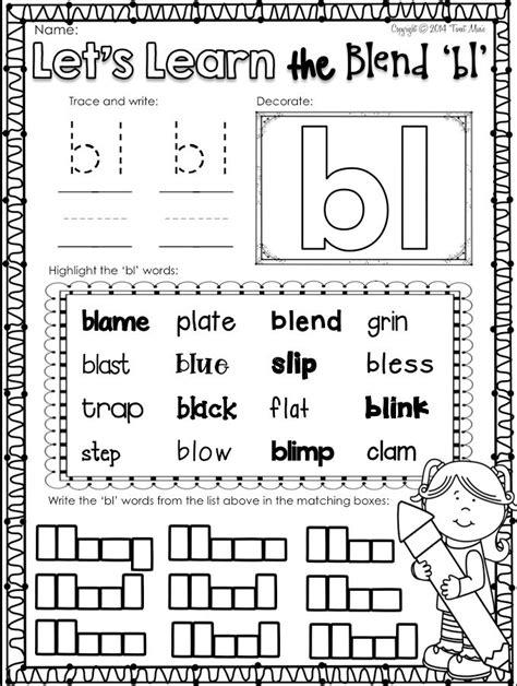 bl list 25 best ideas about consonant blends on