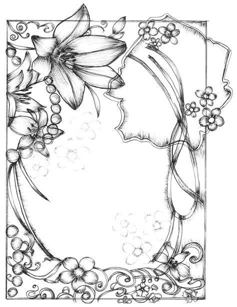 frame design drawing sketchy frames free vector 4vector
