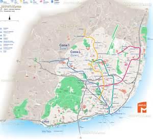 Lisbon Subway Map by Lisbon Map Metro Subway Underground Tube Transit