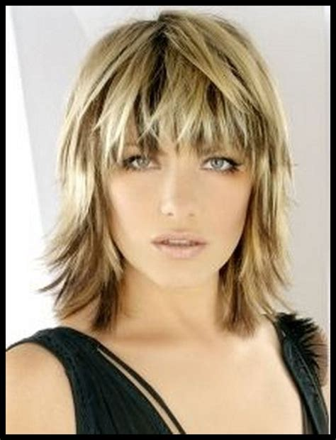 pictures of back of choppy layered hair choppy layered haircuts for medium length hair to give you