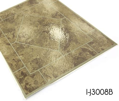 18 in x 18 in Peel and Stick Stone Luxury Vinyl Tile