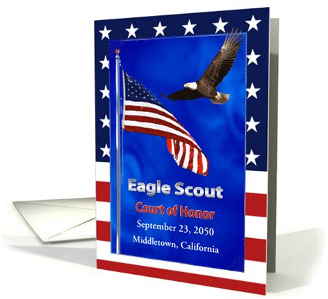blank eagle scout cards templates free eagle scout court of honor program card 1150196