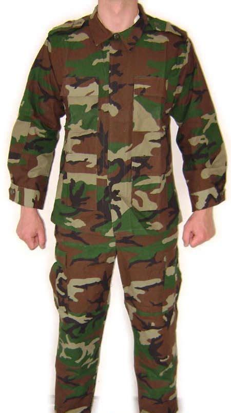 uniforme otan 233 t 233 bdu camo uniforme otan pattern ripstop