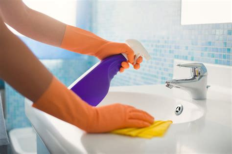 best way to clean up hair in bathroom bathroom cleaning tips popsugar moms