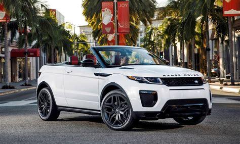land rover convertible black 2016 range rover evoque convertible la