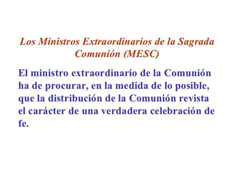 guia para los ministros extraordinarios de la sagrada guia para el ministro extraordinario de la eucaristia