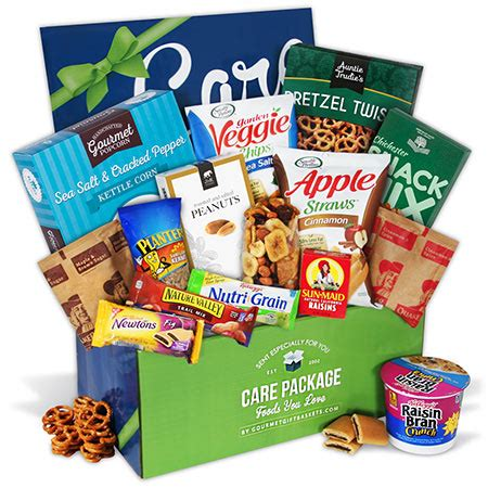 care package for healthy college students by