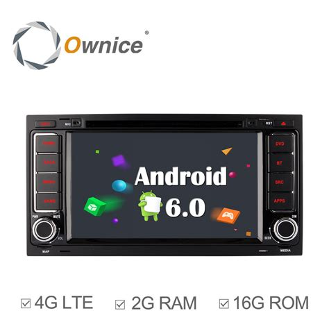 Android Ram 2gb 4g Lte ownice c500 android 6 0 2gb ram dvd touareg for