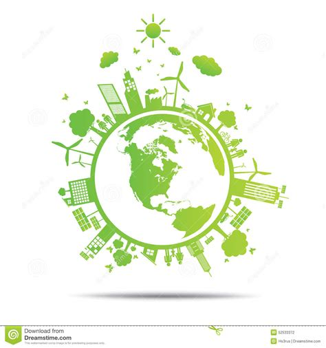 Green Ecology Tree Environmentally Illustration Cartoon Vector Cartoondealer Com 52533375 Ecology Green Icons Tree With Logo Vector Stock Vector Image 51156431