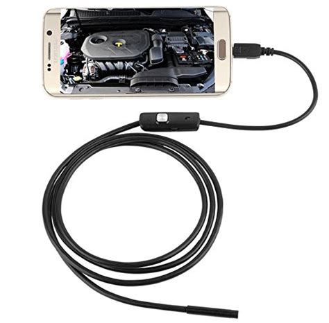 endoscope android 7mm diameter 6 led endoscope ip67 waterproof android inspection borescope