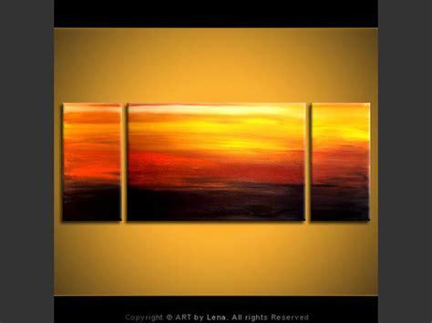 golden sunset by lena