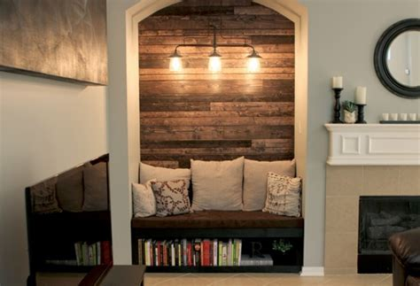 Living Room Alcove Decorating Ideas by Tv Nook Makeover Alcove Before And After