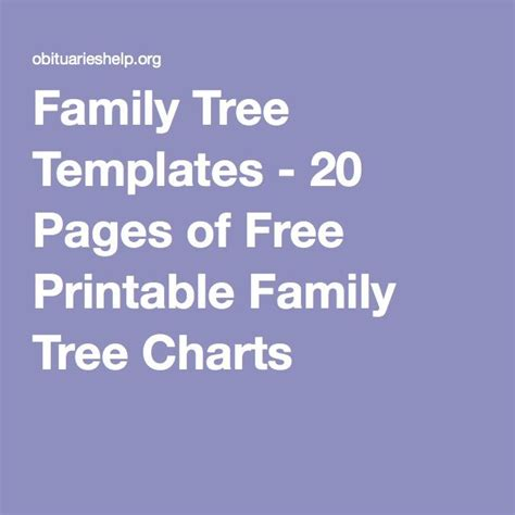 genealogy templates for family trees best 25 family tree templates ideas on family