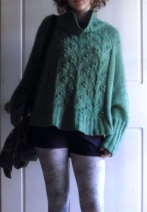 knitting pattern poncho with sleeves sew knit me a sleeved poncho