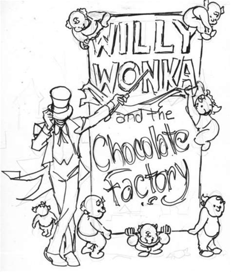 free coloring pages of charlie chocolate factory
