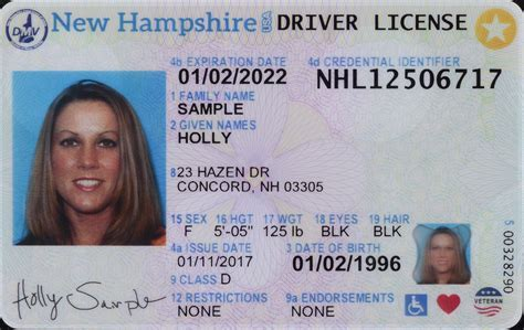 driver license nh unveils new look driver s license id cards news