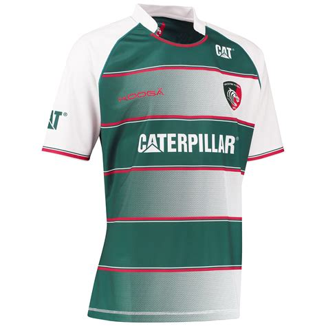 jersey design kooga kooga mens leicester tigers rugby home replica jersey kit