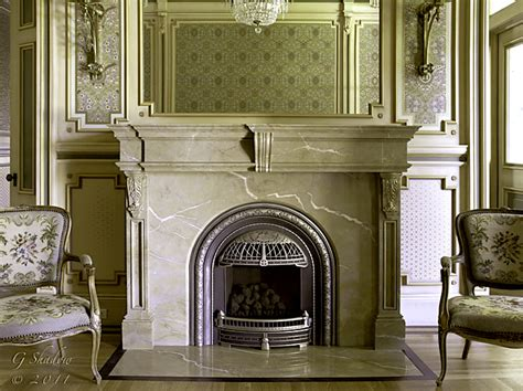 decorative finishes 187 faux marble fireplace
