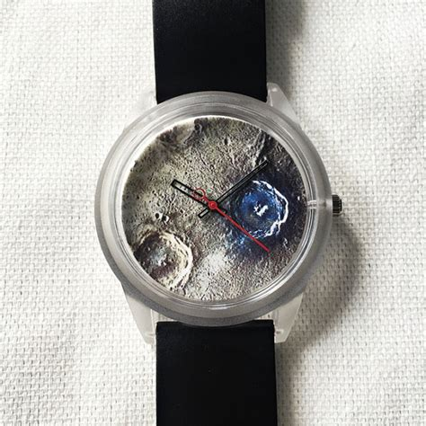 Floral Duvet Moon Crater Watch Watches Mens Watch Unique Watch Moon
