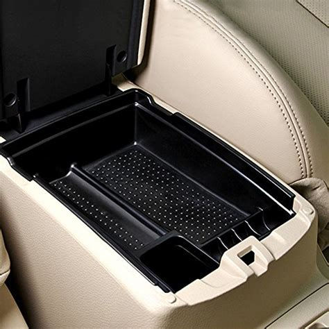 chitronic car vehicle front floor center console organizer