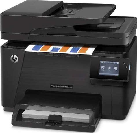 Printer Hp Laserjet Color Pro 100 M177fw hp color laser jet pro 100 m177fw cz165a multi function