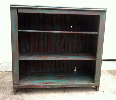 chalk paint bookshelf bookcase stray furniture redeux