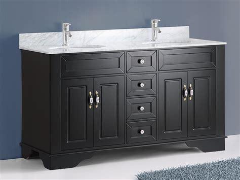59 sink vanity 59 quot littleton sink vanity espresso bathgems com
