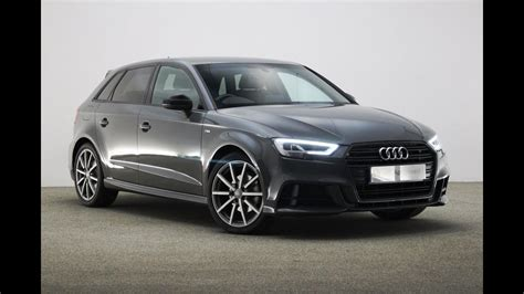 audi reading re17bvo audi a3 tfsi s line black edition grey 2017