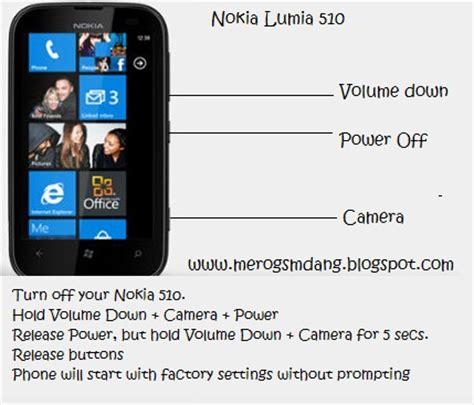 Factory Reset Lumia | nokia lumia 510 hard reset via key