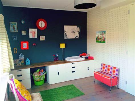 Bedroom Storage Ikea Canada Kid S Room Ikea Stuva Storage With Teak Topping From