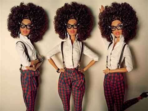 african american hipster hairstyles afro hipster toys games pinterest black barbie i