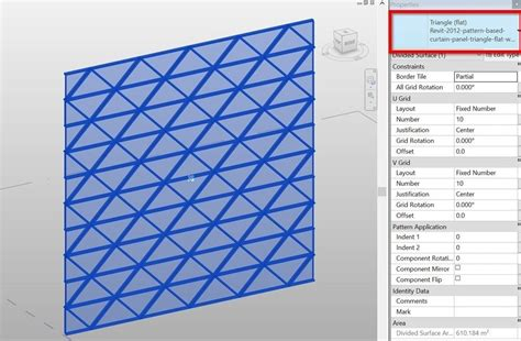 revit curtain panel family create triangular curtain panel with gap joints rv boost