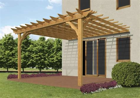 building pergola attached to house building a pergola plans