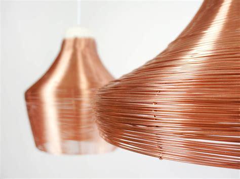 Copper L by Copper Pendant L Studio Lorier