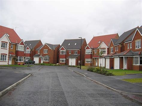 Modern Houses by File Mulberry Park Housing Estate Geograph Org Uk
