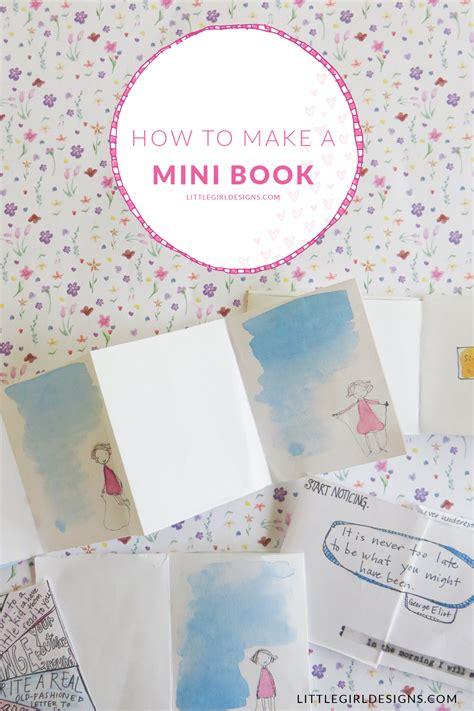 Make A Mini Book Challenge by How To Make A Mini Book Jennie Moraitis