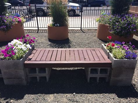 pinterest garden benches cylinder block bench for the garden pinterest