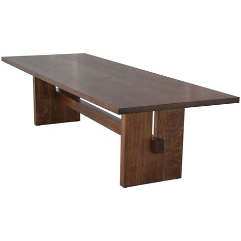 trestle dining room tables black walnut trestle table trestle tables dining room
