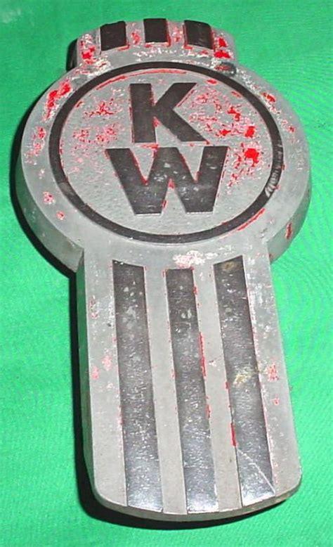 old kenworth emblem find vintage kenworth truck hood ornament emblem kw 170