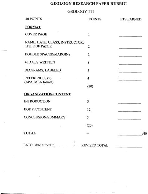 essay grading rubric template essay grading rubric template exle of a resume for a