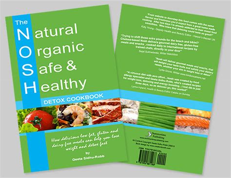 Detox Brochure by Creationbooth Book Design Book Cover And Page